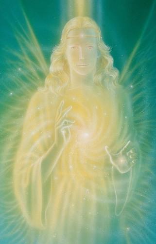 """Gebetskärtchen """"Der Engel der Heilung"""""""