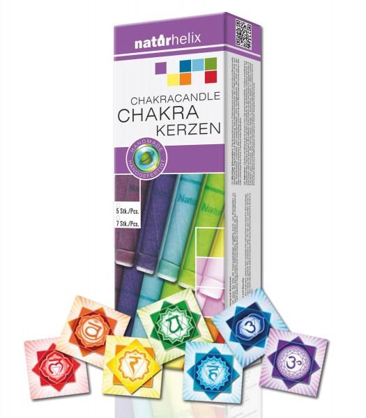 7-Chakra-Körper-Kerzen