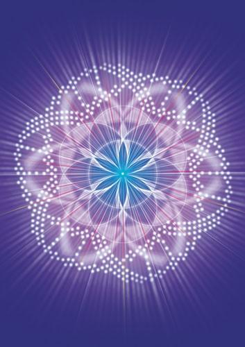 Schwingungsbild - Kosmischer Kornkreis