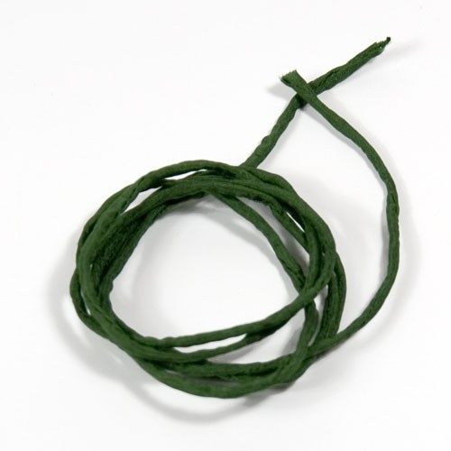 Seidenband dunkelgrün