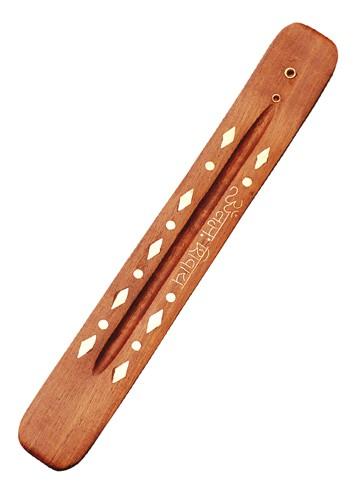 Holzhalter mit Mantra Om Namah Shivaya