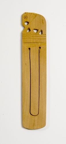 Buchzeichen aus Sandelholz, groß