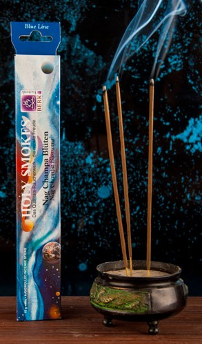 Nag Champa Blüten - Blue Line