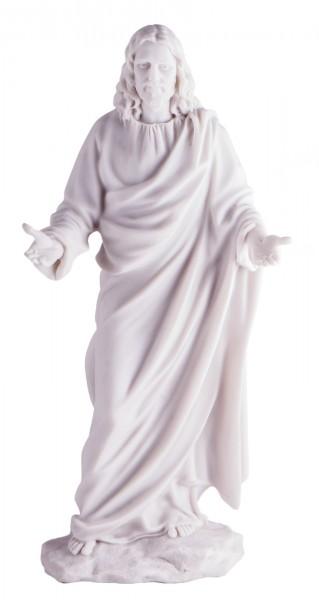 Jesus Figur/Statue, 29.5cm, weiß