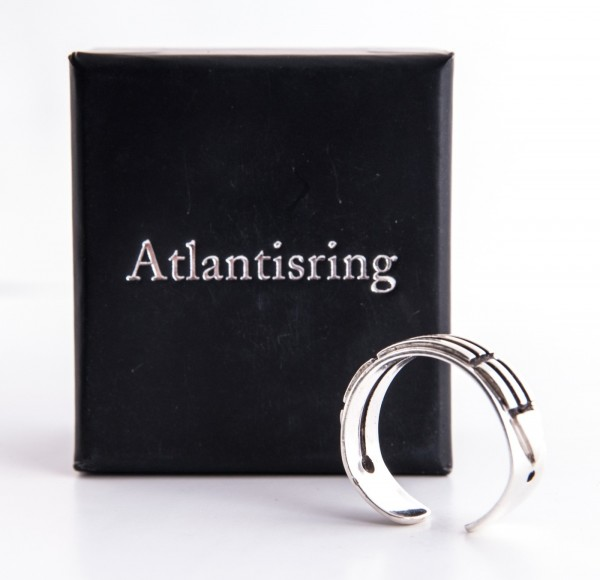 Atlantisring Silber (Herrengröße)