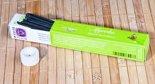 Myrrhe Räucherstäbchen - Green Line 10 g