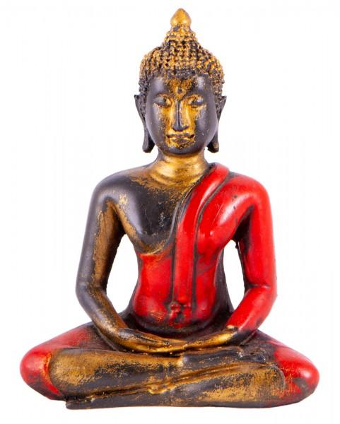 Buddha aus Fiberglas, rot