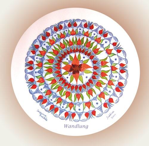 Wandlung - Mandala 12 cm