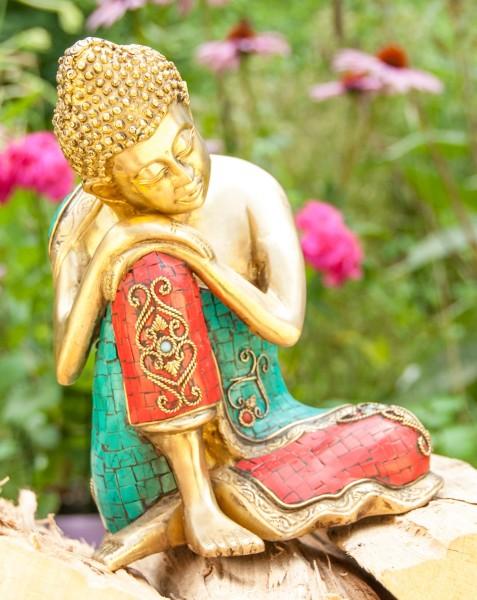 Ruhender Buddha 25 cm