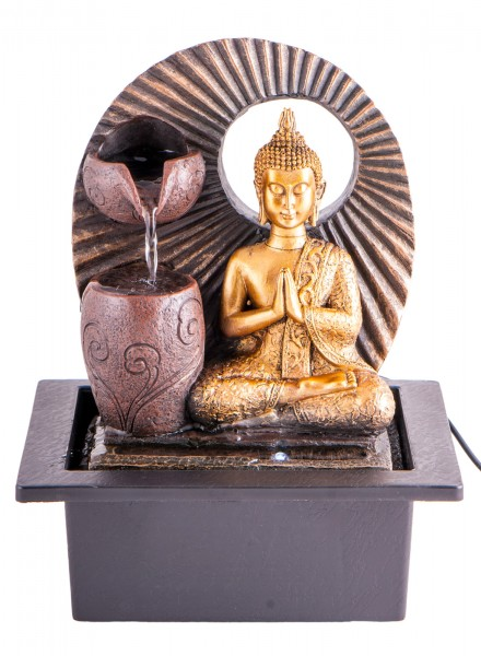 Zimmerbrunnen Buddha klein