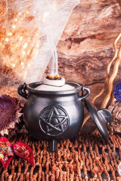 Großer Hexenkessel Pentagramm