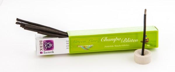 Champa-Blüten Räucherstäbchen - Green Line 10 g