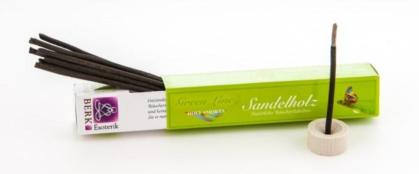Sandelholz Räucherstäbchen - Green Line 10 g