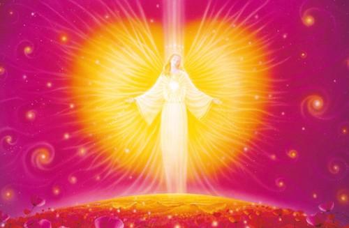 """Gebetskärtchen """"Engel der Liebe"""""""