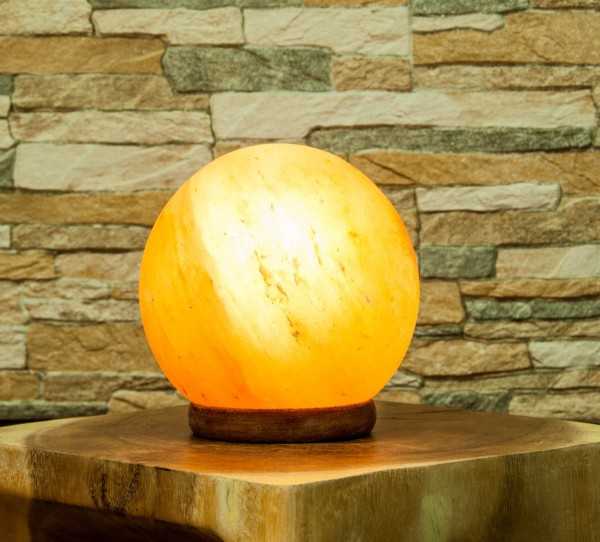 Salz-Kugel Lampe