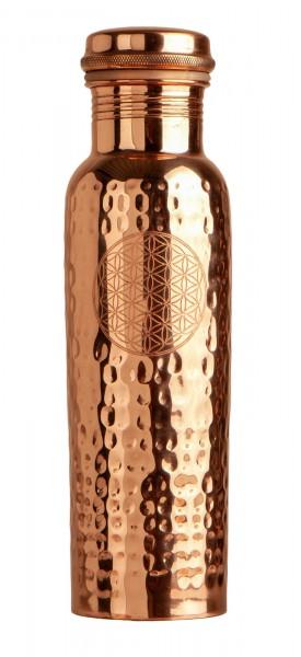 Trinkflasche aus Kupfer, 650ml