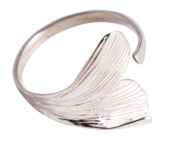 Ginkgo Blatt Ring