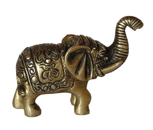 Baby Elefant mit Gravur
