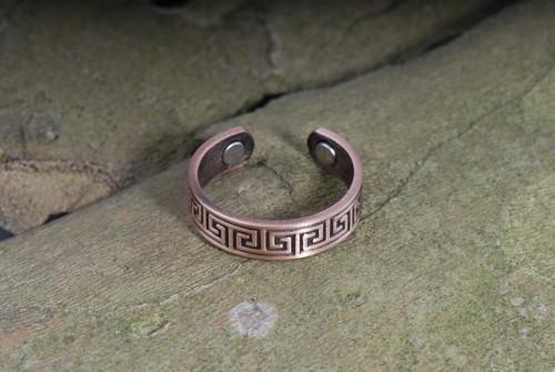 Celtic- Magnet-Ring aus Kupfer