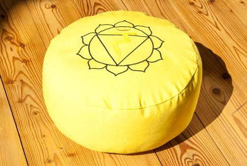 Solarplexuschakra Meditationskissen