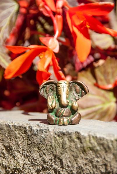 Ganesha Statue sitzend ca. 3 cm