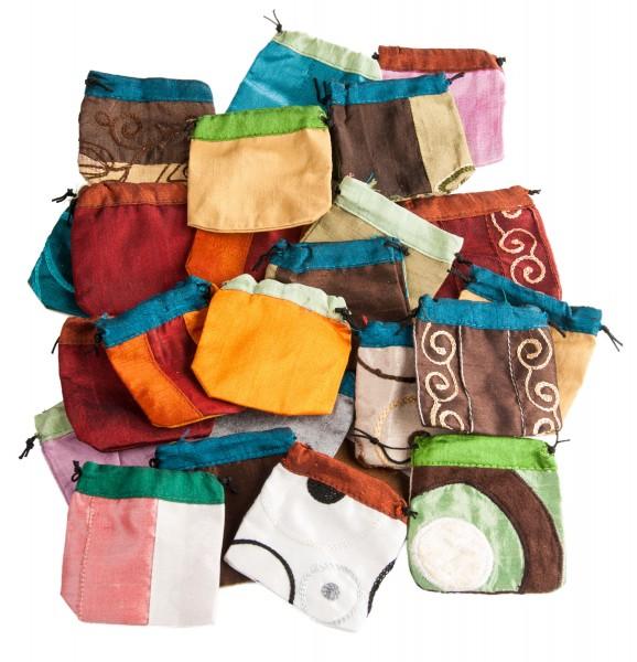 Baumwolltäschchen, 50 Stück