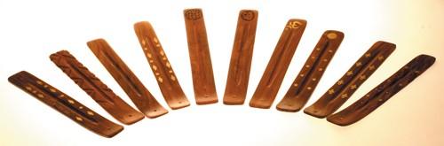 Holzhalter Mischpaket 10 verschiedene Halter