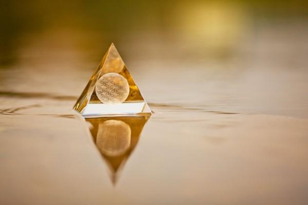 Blume des Lebens Sphärenkristall
