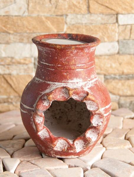 Räucherkamin Inka, rot