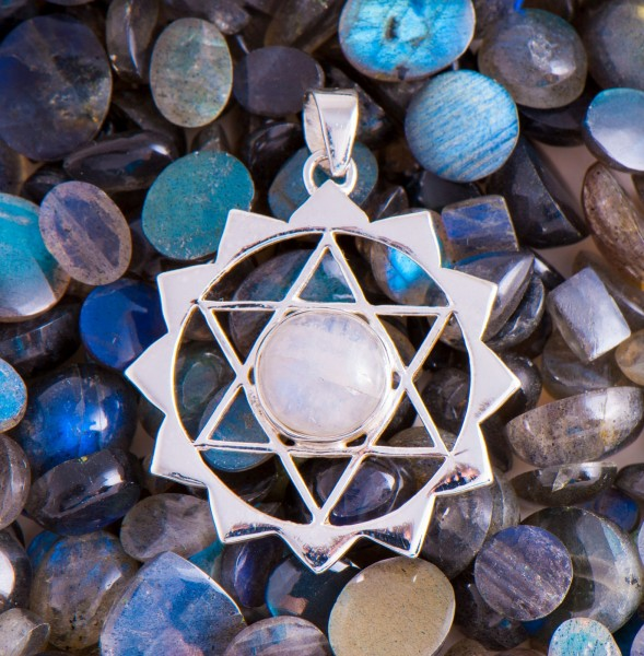 Hexagramm Amulett