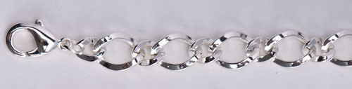 Charms-Kette breit, 19 cm
