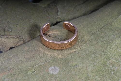 Magic- Magnet-Ring aus Kupfer