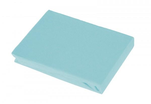 Spannbetttuch 140-160x200 cm beach-blue