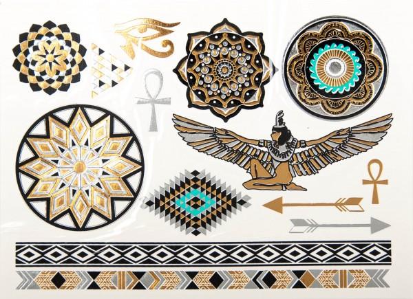 Ägyptische Mystik - Tattoo