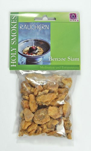 Benzoe Siam - Räucherwerk von Dr. Berk, 50g