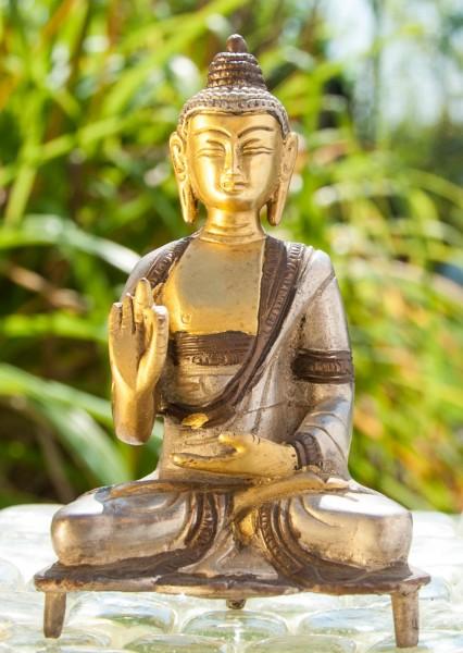 Kanakamuni Buddha sitzend ca. 13 cm