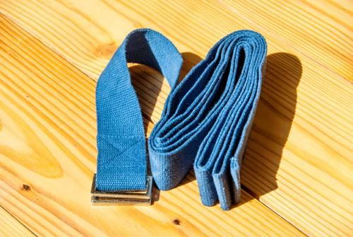 Yoga Gurt dunkelblau