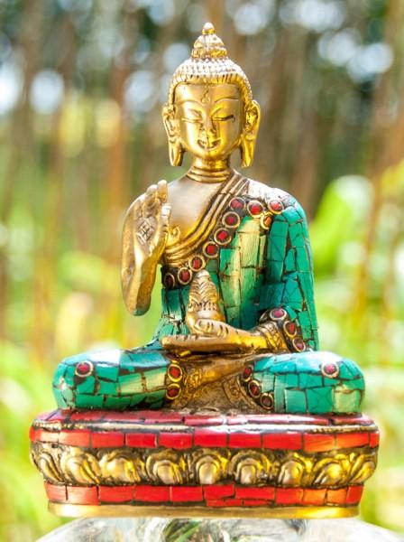 Kanakamuni Buddha sitzend 11,5 cm