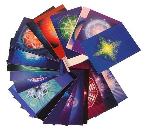 Schwingungsbilder-Set (10 Karten)
