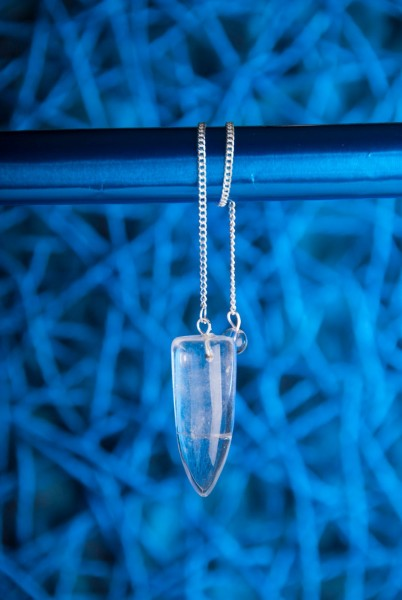 Zapfenpendel Bergkristall