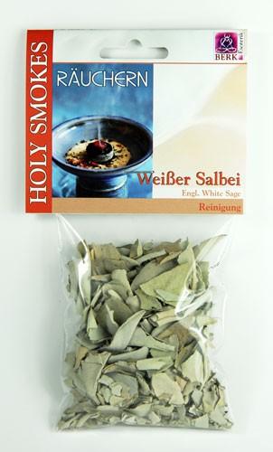 Weißer Salbei - Räucherwerk von Dr. Berk 10g