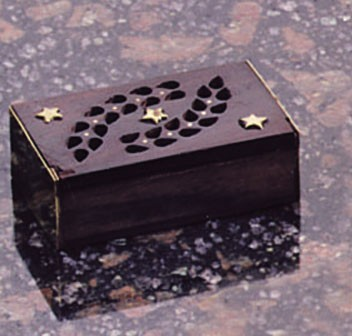 Duftdose Holz ohne Amber