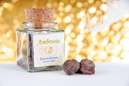 Ambrosia Herz | Räucherwerk | Der Duft der Götter, 30g