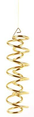 DNS-Spirale, Messing, 17 cm hoch