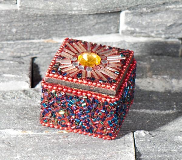 Sultans Schatz - quadratisch, rot