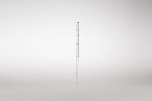 Trinkhalm Calamus aus Glas, 24 cm