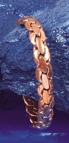 Kupfer-Armreif, geknotet