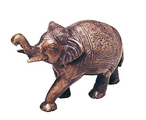 Kleiner Elefant mit Gravur