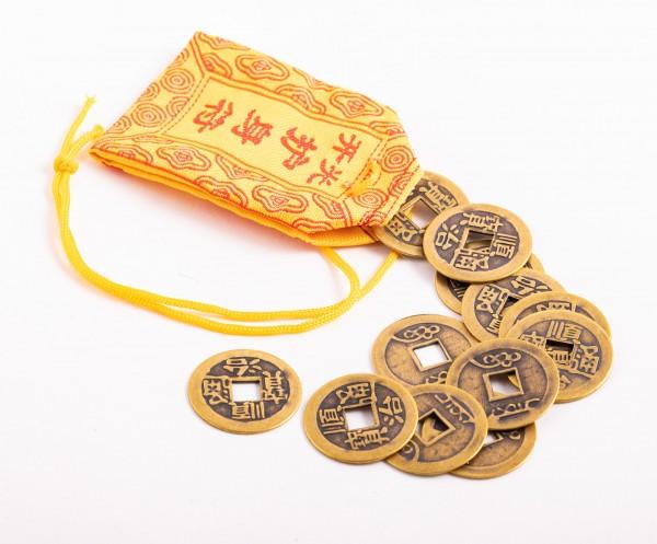Kleine Chinesische Glücksmünzen