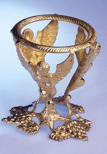 Kristallkugelständer - Engel 13 cm